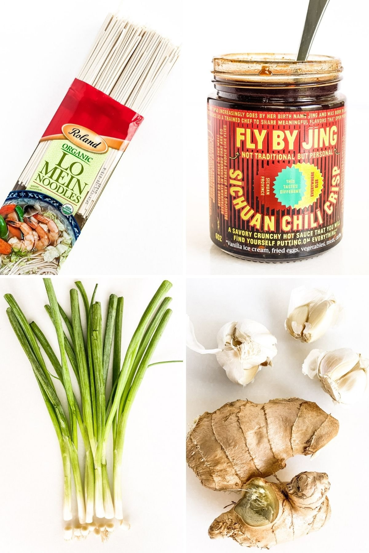 ingredients for spicy chili noodles